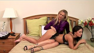 Ann marie rios and julia ann making out