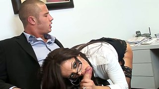 Bosomy francesca le wants the dick so much