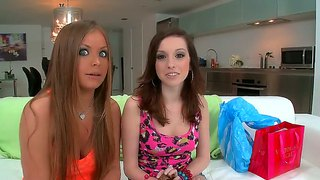 Diamond kitty and mercedes lynn in group lex fun