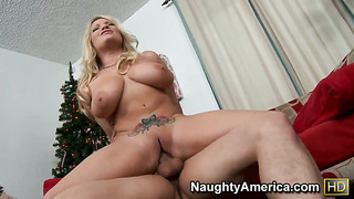 Anthony rosano cant wait any more to shove his boner in sex obsessed rachel loves fuck hole