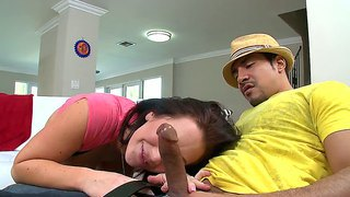 Jayden james shows she's an expert with a hard cock