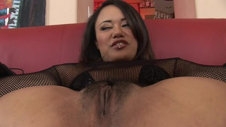 Hairy babe annie cruz is banged in all her holes