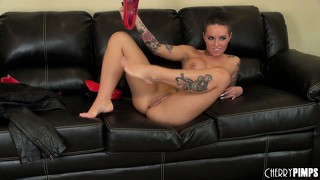 Christy mack acts out her whore fantasies for you in this dirty solo session