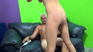 Stunning blonde with delightful tits channel rae rides a big dick with pure desire