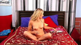 Teen girl lilly banks does her first naked action in front of the camera