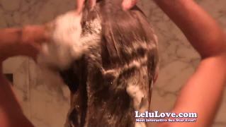 Lelu love-super soapy shampoo shower