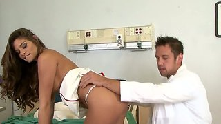 Madelyn marie is fucking her new boyfriend who is a doctor