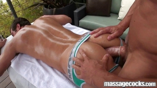 Massagecocks outdoor penetration