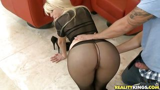 Blond, Hand Job, Boud, Piel, Wit
