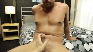 Rocco reed makes bobbi starr gag on his beefy meat pole