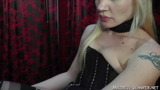 Intense cock torture and pussy worship session with ariel