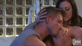 Wicked - incredibly fit brunette milf seduces her trainer