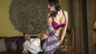 Busty mature eager for two hard ones