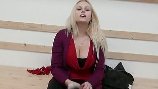 Audrey argento asshole fucked for money