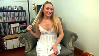 Mischievous ajay applegate is demonstrating how she makes herself achieves mind-blowing orgasm
