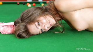Hot chick wants to play with balls