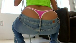 So sweet and delicious ass of sexy reena sky