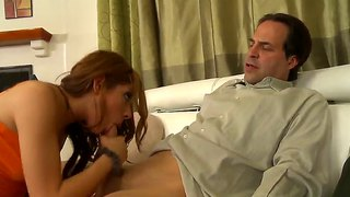 Evilyn fierce rides eric john in old+young scene