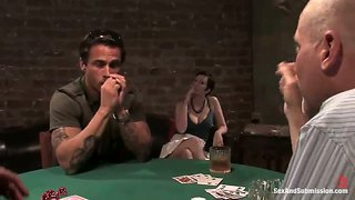 Cherry torn and mark davis in strip poker scene