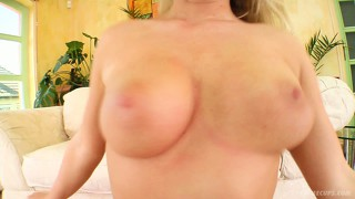 Stacked blonde with a sublime ass kyra sets up a threesome to fulfill her fantasies