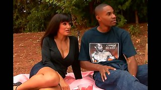 Lisa ann makes way to cj wright's cyclop