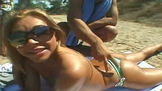 Amateur action with friends named leslie taylor, renato and stephanie