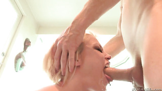 Ash hollywood is a blowjob addict who loves guys erect love torpedo