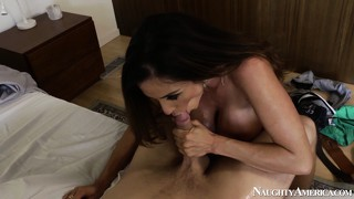 Ariella ferrera gets banged raw by her younger lover's eager dick