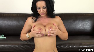 Jayden jaymes is a raven haired whore begging for any cock to fuck her