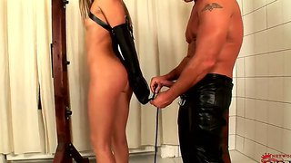 Cherry jul has her first bondage session ever