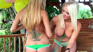 Breanne benson and molly cavalli in heavy action