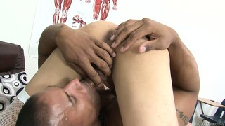 Unnamed jack pushes his dong right inside nasty tranny's ass