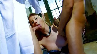 Angelica castro is a blonde whore which swallows two loads