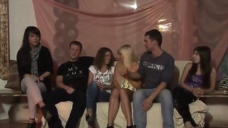 Allysin moore,  cofi,  lucille,  marta,  stacey silve have group sex