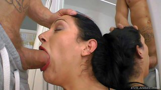 Schwanz, Tattoo, Deepthroat, Blowjob, Nutten