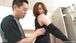 Elegant asian chick undressed and much more