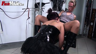 Yes mistress, you can paddle my big fat ass and i'll help you suck cocks