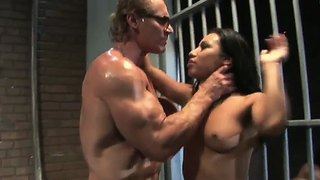 Jasmine byrne and taylor rain fuck in prison