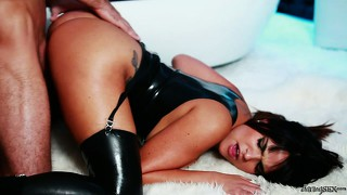 Two magnificent babes with desires and fantasies in common get together to fulfill them