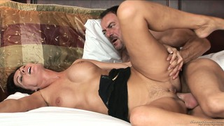 Amazing milf has never felt so great during intensive banging before