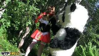 Red riding hood and the big bad panda
