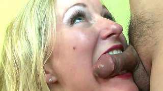 Sexy lady named dia zerva sucks her boyfriends dick and licks his balls