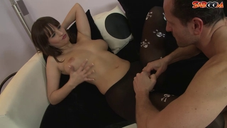 Stepdaughter fucks not her old dirty stepdad
