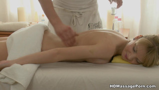 Teen, Hardcore, Blond, Massage, Girl