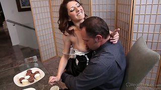 Sex in the kitchen by alec knight, lexi bloom and nikki sexx.