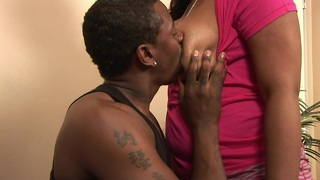 Bbw black lady janae foxx is horny