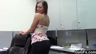 Sextape at the office