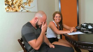 Young cutie nadia came for the audition that turns in her first fucking on the camera