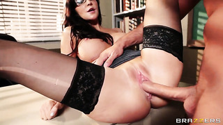 Diana prince with giant hooters is hungry for hardcore fucking and gets used by horny keiran lee