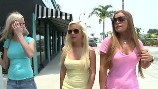 These three girls kaylee hilton, mercedes lynn and whitney taylor  know all about girl on girl.